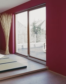 porte oscillo coulissante portes de terrasse et de. Black Bedroom Furniture Sets. Home Design Ideas